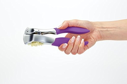 Kitchen Craft Colourworks Purple Garlic Press