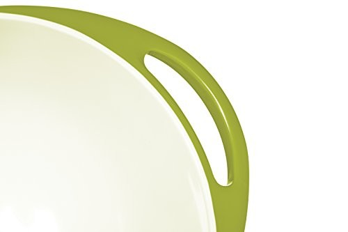 Colourworks Lime Green Melamine Mixing Bowl 24 cm