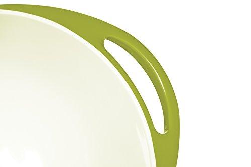 Colourworks Lime Green Melamine Mixing Bowl 24 cm