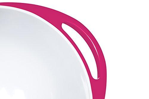 Colourworks Hot Pink Melamine Mixing Bowl 24 cm