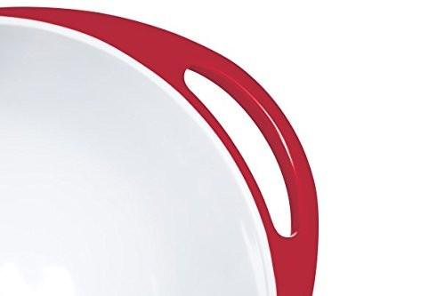Colourworks Red Melamine Mixing Bowl 24 cm