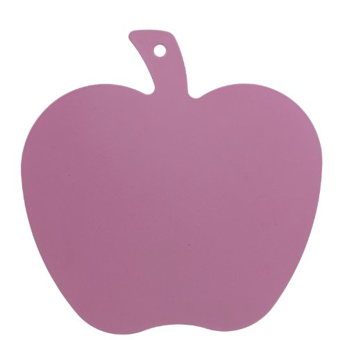 Excellent Housewares Pink Cutting Board Apple Shape