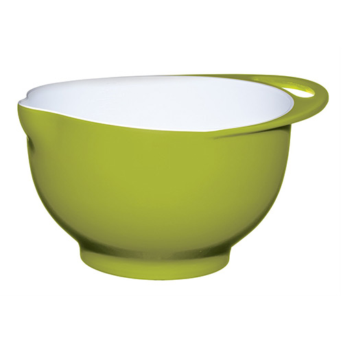 Colourworks Lime Green Melamine Mixing Bowl