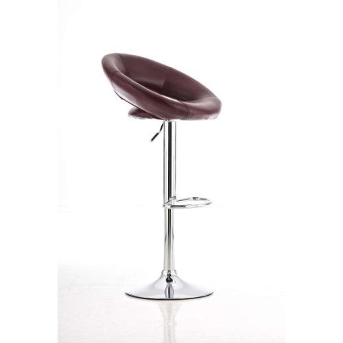 Rio de Janeiro Bordeaux red bar stool