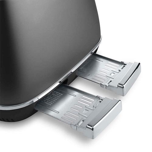 DeLonghi Distinta 4-Slice Toaster, Black