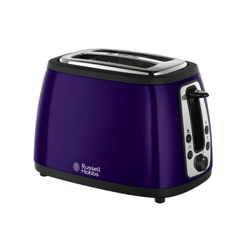 Russell Hobbs 18259 Heritage 2 Slice Toaster - Metallic Purple