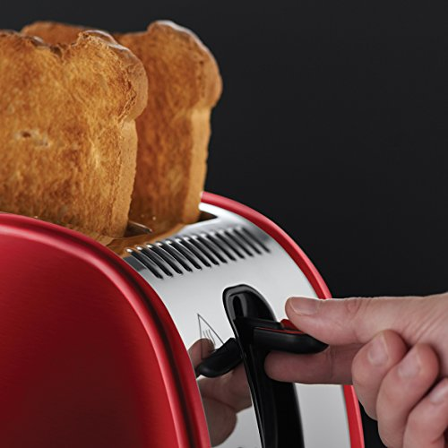 Russell Hobbs Legacy 2 Slice Toaster - Red