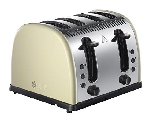 Russell Hobbs Legacy 4 Slice Toaster - Cream