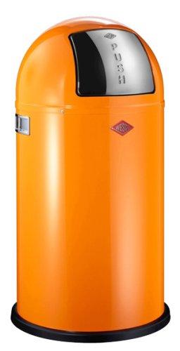 Wesco Pushboy 50 Litre Bin Orange My Kitchen Accessories