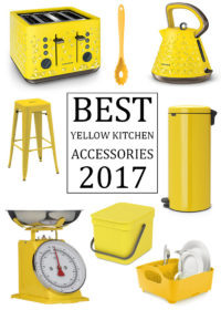Best Yellow Kitchen Accessories 2017