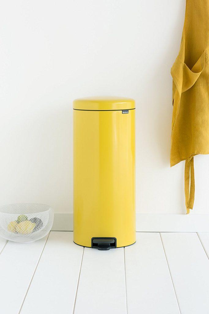 Brabantia newIcon Yellow Pedal Bin