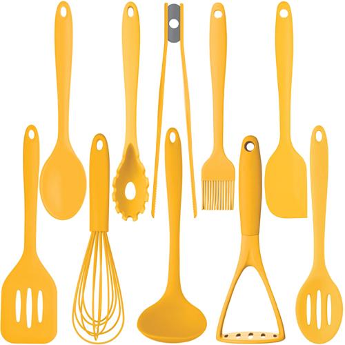 Kitchen Craft Colourworks Yellow Silicone Utensils