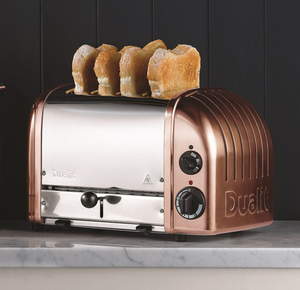 Dualit 4-Slot Copper Classic Toaster