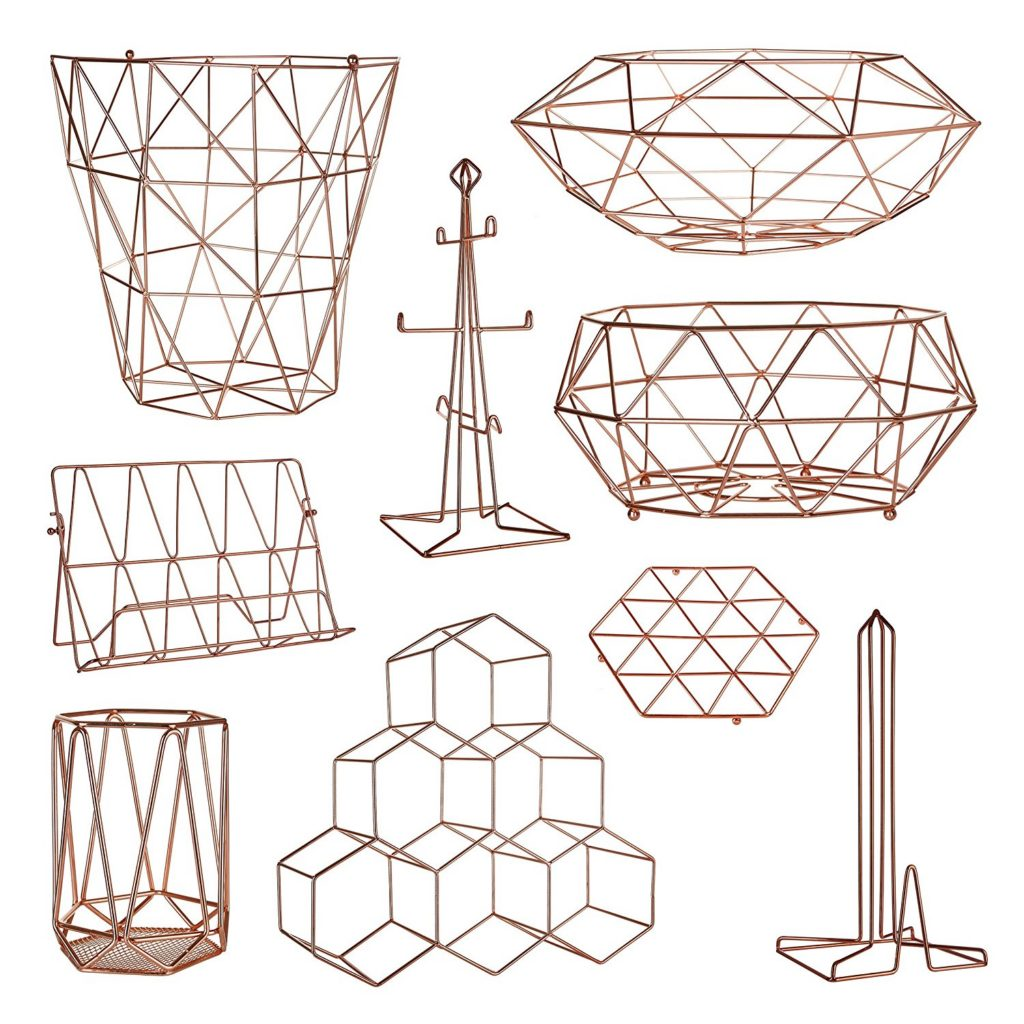 Premier Housewares Copper Vertex Range