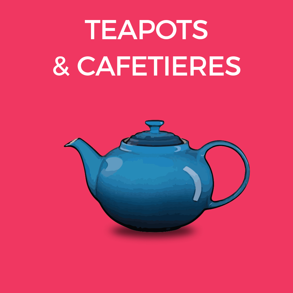 Teapots and Cafetieres